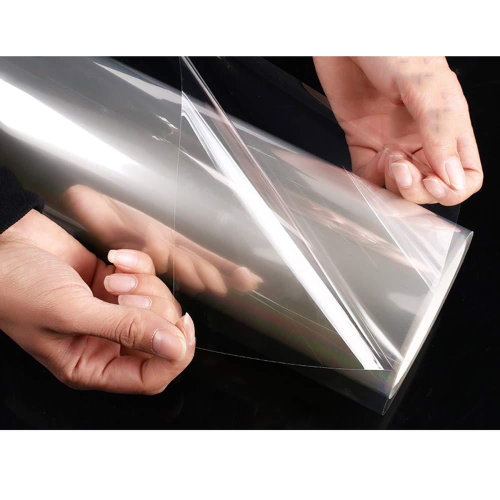 HOHOFILM 4/mil Clair de s/écurit/é et Protection Contre Les UV Film de s/écurit/é Film incassable 60 x16ft Claire