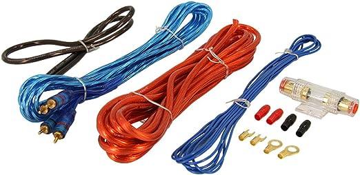 Kabelset Für Verstärker Anschluss Set Kabelsatz Awg 8 Auto