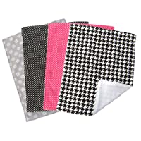 Trend Lab Burp Cloth Set, Serena, 4-Count