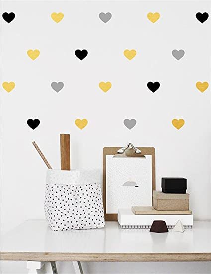 Amazoncom Gtrsa Heart S Various Sizes Nursery Faux