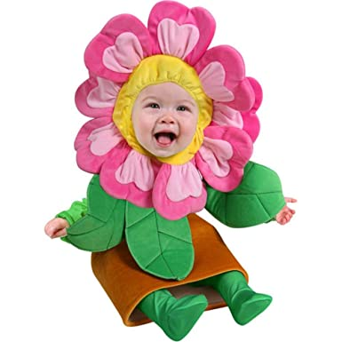 225 & Baby Flower Pot Costume (Size: 12-18 Months) Pink