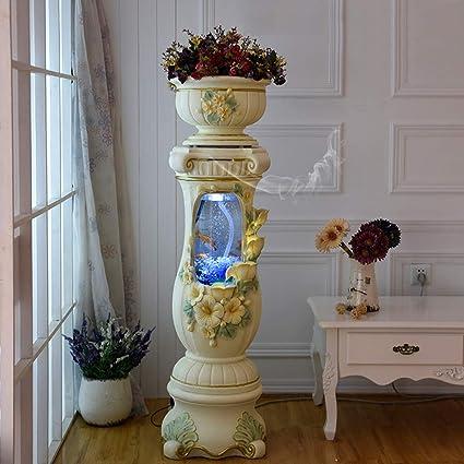 Amazon Com Jiangu European Style Cylindrical Acrylic