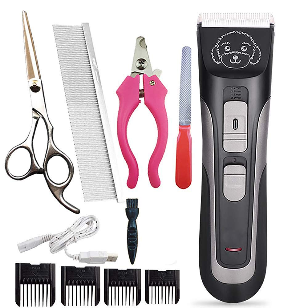 Pet Hair Clipper Low Noise Pet Grooming Beauty Kit For All Breeds Of Dogs And Cats By The Brand Used By Professionals