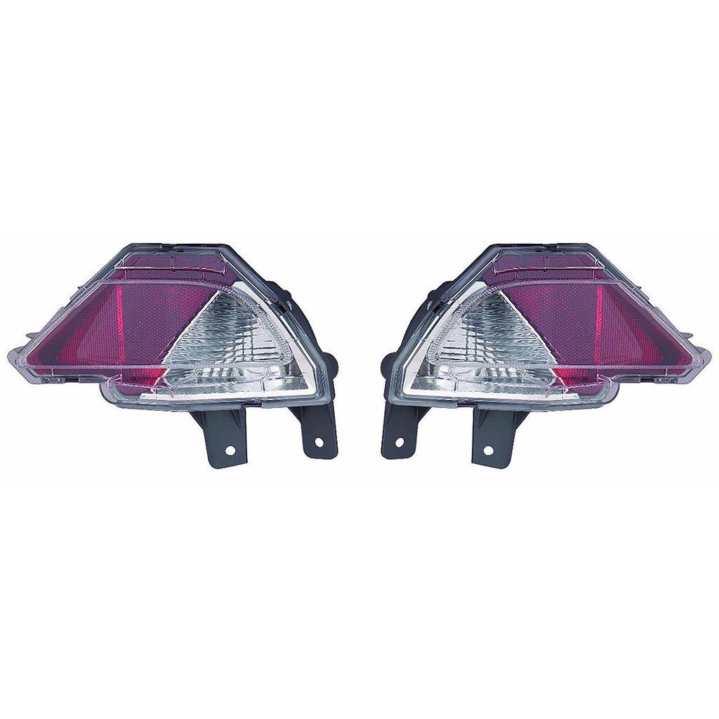 Toyota rav4 / RAV 4ハイブリッド2016 InnerテールライトW / Reflectorユニットペアドライバーと助手席側( NSF認証to2886105、to2887105 B077BLBK1Q