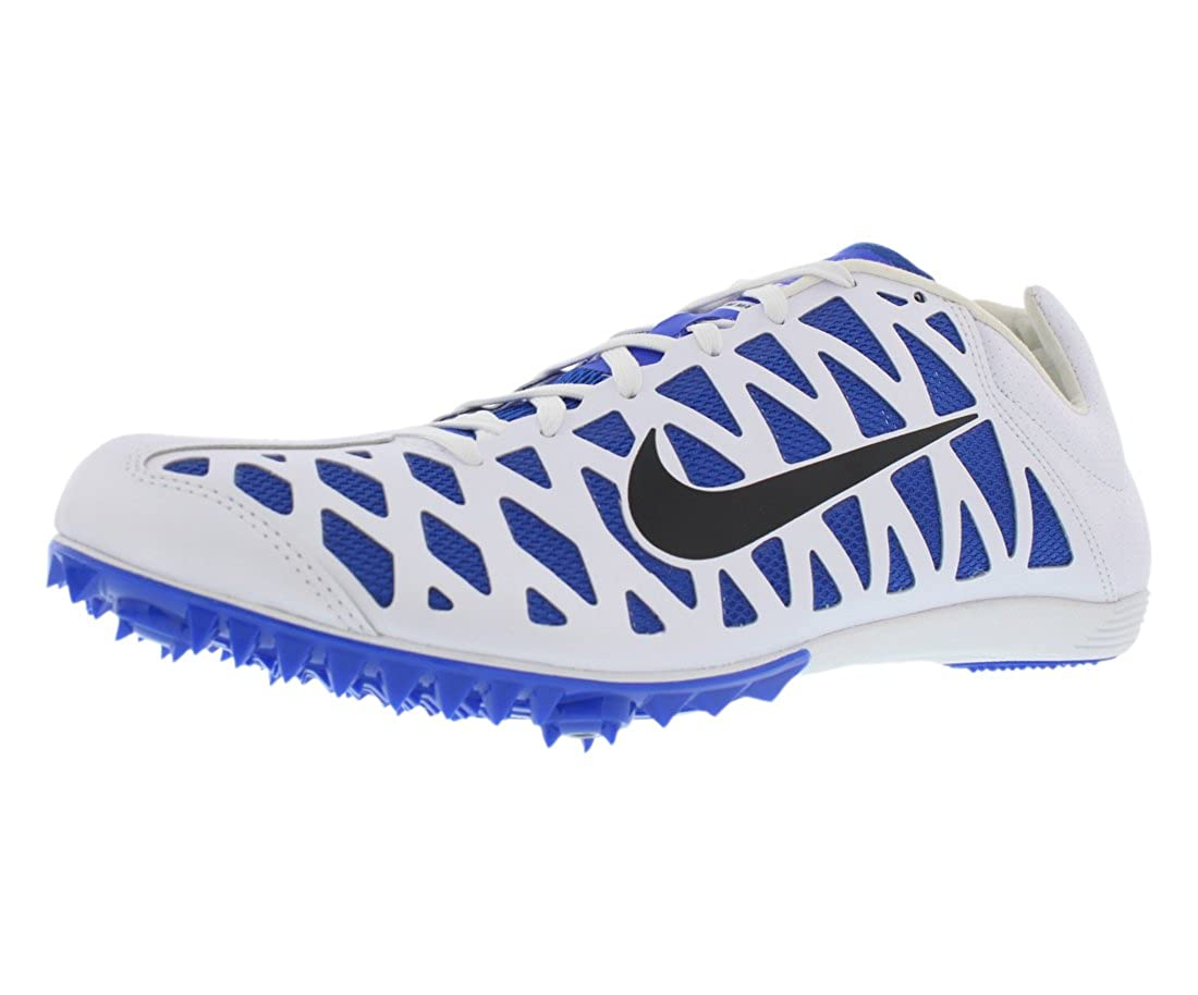 f0d8598a19b Amazon.com  Nike Zoom Maxcat 4 Running Spikes - White-12  Shoes