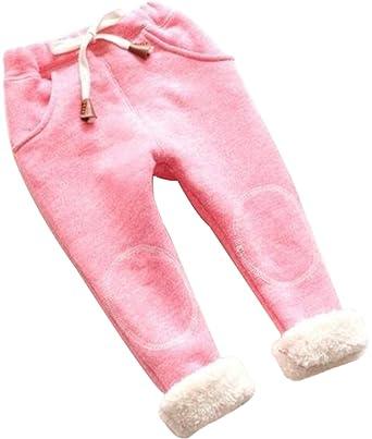 46a172ccfae9f UNIQUEONE Kids Baby Boys Girls Winter Warm Pants Thick Fleece Leggings  Trousers Size 24Months/Tag100