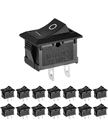 Amazon.com: Toggle Switches - Industrial Switches: Industrial ... on 4 pin wiring a switch, 6 prong toggle switch diagram, outdoor flood light wiring diagram, 4 pin trailer wiring, led toggle switch diagram,