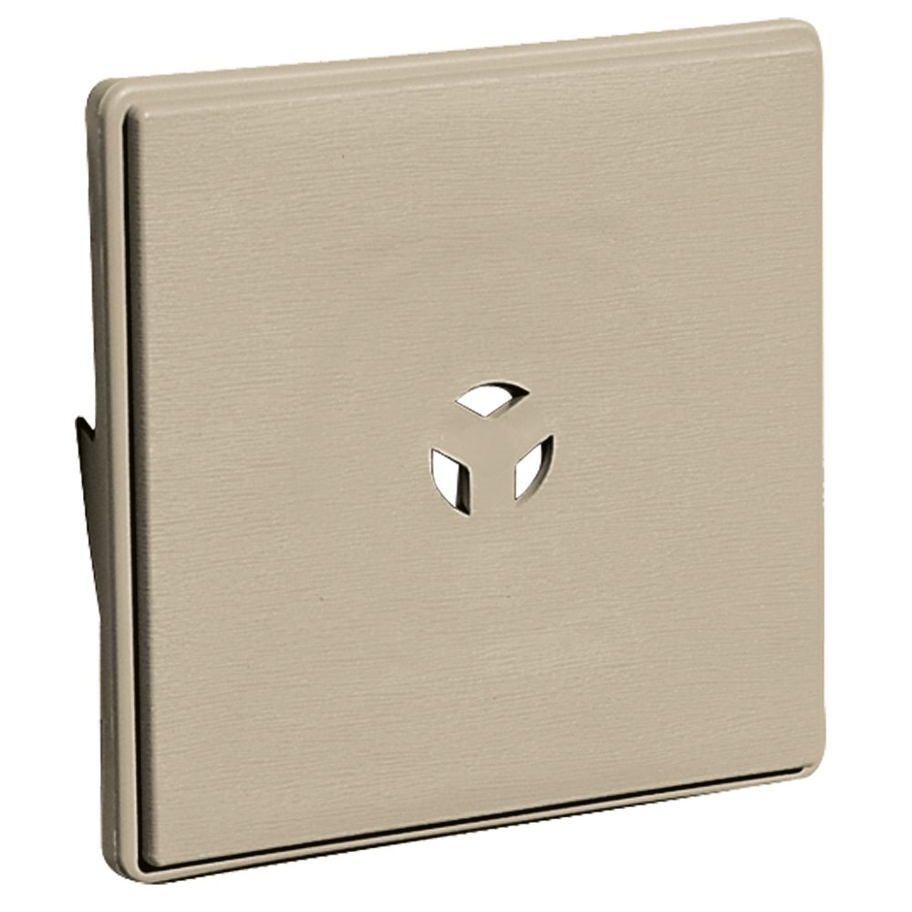 Builders Edge 130110008085 Surface Block for Dutch Lap 085, Clay The TAPCO Group - DROPSHIP