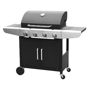 Happy Garden Barbecue Au Gaz Kentucky 4 Brûleurs Avec Thermomètre