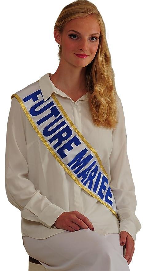 Echarpe Miss FUTURE MARIEE  Amazon.fr  Jeux et Jouets 7e7b80c2619