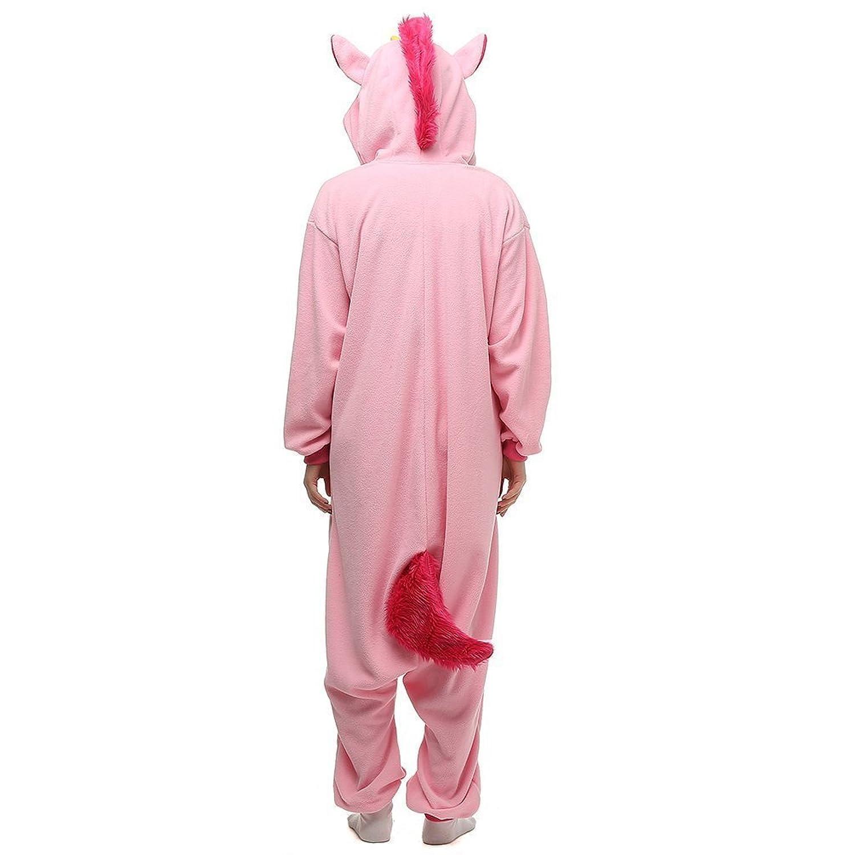 Amazon.com: Unisex Adults Animal Unicorn Cosplay Costume Pajamas Home Sleepwear: Clothing
