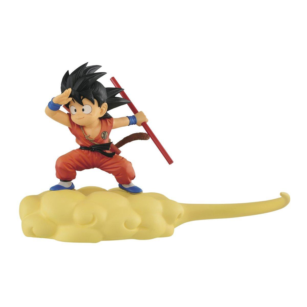 Prize Figure Banpresto Dragonball Kintoun Son Gokou- A Normal Color Ver