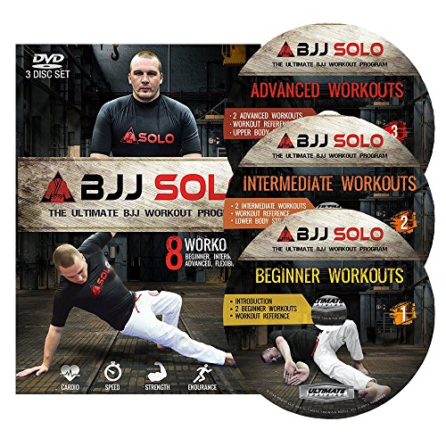 BJJ Solo: The Ultimate BJJ Workout Program (3 DVD Set)