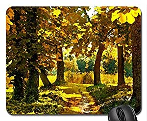 Autumn Mouse Pad, Mousepad (Watercolor style)