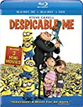 Cover Image for 'Despicable Me (Four-Disc Combo: Blu-ray 3D / Blu-ray / DVD / Digital Copy)'