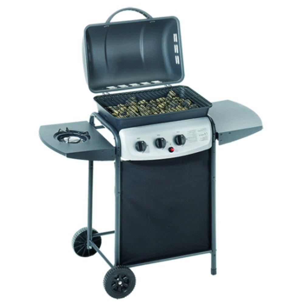 Ompagrill Barbecue A Gas 'Ecolava Plus' A Roccia Lavica