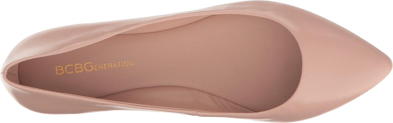 BCBG Generation Women's Millie Loafer Flat B06Y4GNML8 10 B(M) US|Shell Leather
