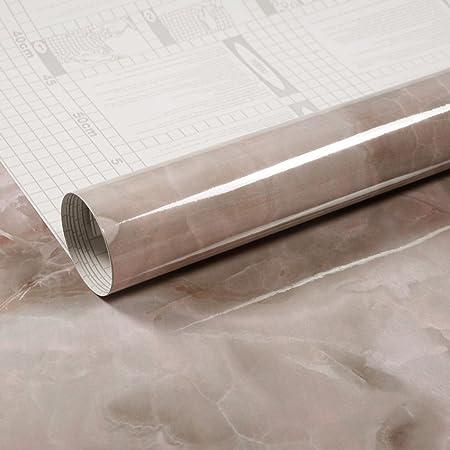 Hbos Grey Contact Paper Self Adhesive Wallpaper Waterproof Peel And