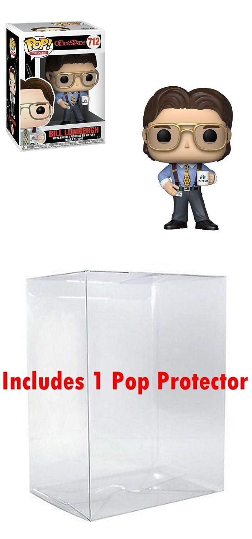 Funko Office Space: Bill Lumbergh Bundled w Box Protector CASE Vinyl Figure 712 POP