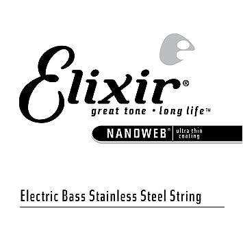Elixir 15401 - Juego de cuerdas para bajo eléctrico.100: Amazon.es: Instrumentos musicales