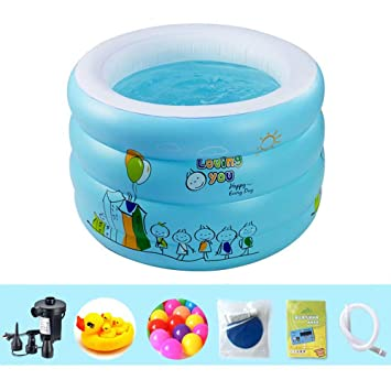 Amazon.com: ZDYG - Piscina hinchable para niños, piscina ...