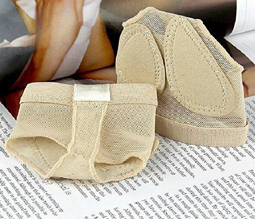 MIKIBANA Frauen Halbsohle Tanzschuhe Lyrischen Bare Foot Thong Tanz Pfote Schuhe Fitness