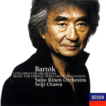 【Amazon.co.jp限定】バルトーク: 弦楽器、打楽器とチェレスタのための音楽、管弦楽のための協奏曲(生産限定盤)(UHQCD)(特典:メガジャケ付)
