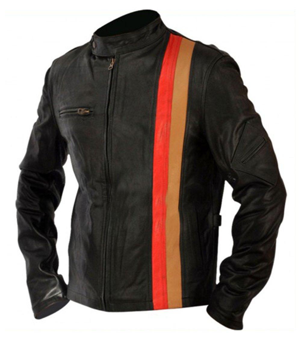 X-Men Last Stand Scott Cyclops Motorcycle Leather Jacket