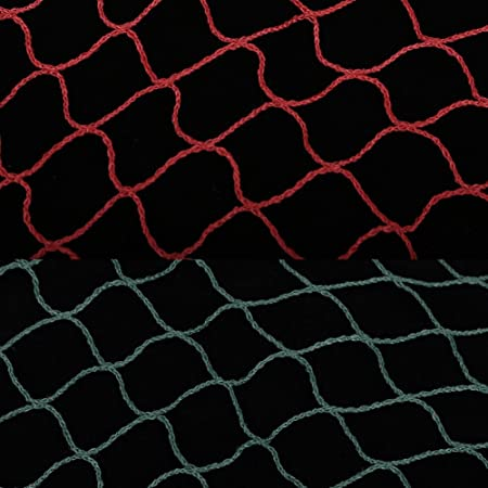MAGT Badminton Net Green 2 Colors Portable Durable Badminton Mesh Net for Outdoor Sports Entertainment Training