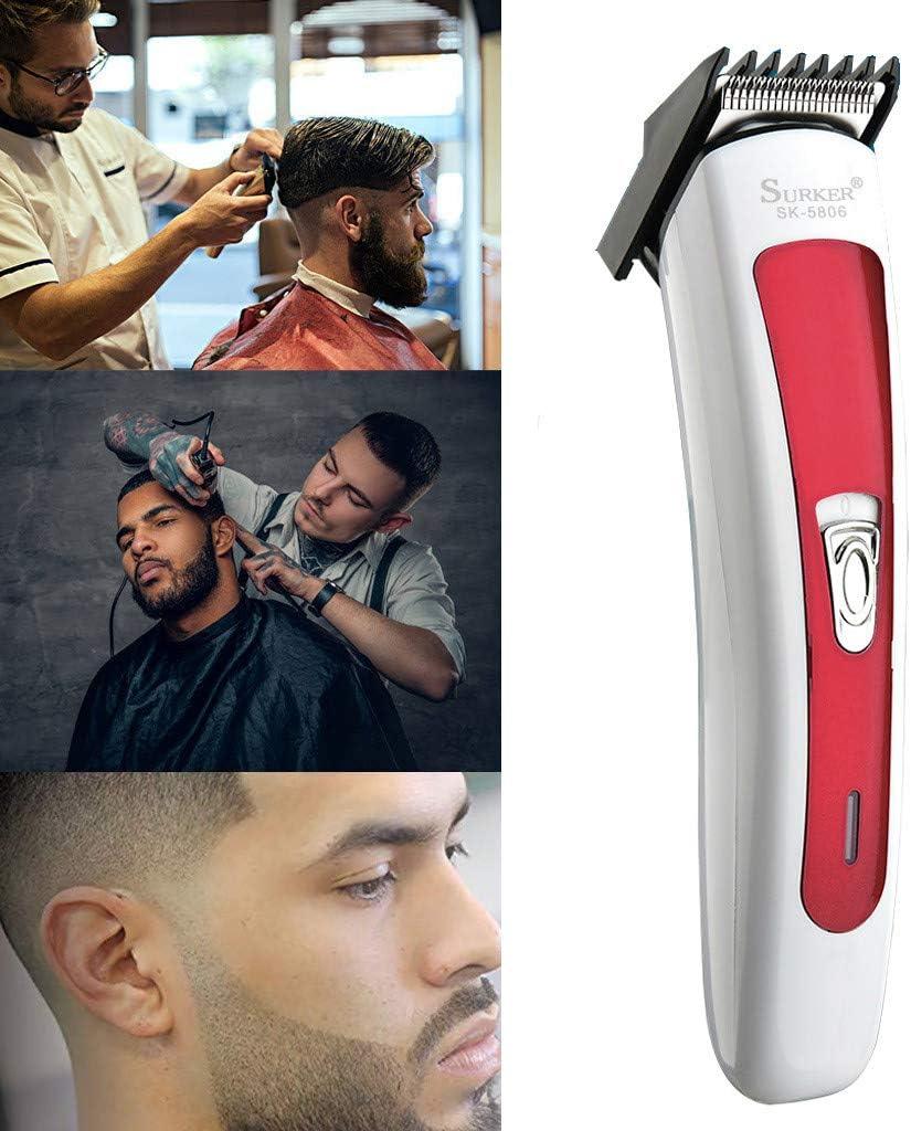 DUJIE afeitadoras eléctricas para hombre, kit de recortadora de barba, cortadora de pelo, cortadora eléctrica de pelo y corte, afeitadora de peluquería para el hogar ...