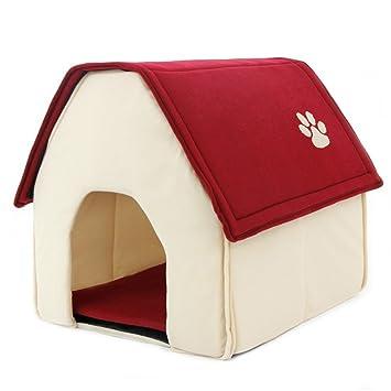 yuhuawyh perro Caseta a casa gato cama camas