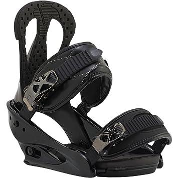Burton Fijaciones de snowboard Stiletto Negro negro Talla:small rqRUOl
