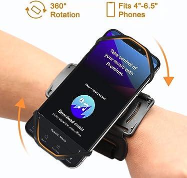 VUP – Brazalete deportivo para todos los smartphones de 4 a 6,1 pulgadas, brazalete para correr, caminar, ir en bicicleta, senderismo, escalada, bolso de brazo: Amazon.es: Electrónica