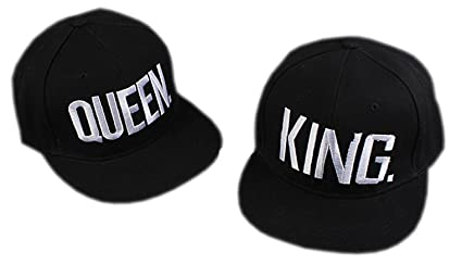 Buy Handcuffs BFVCU08 Cotton Stylish Adjustable King and Queen Caps ... 536c2959610