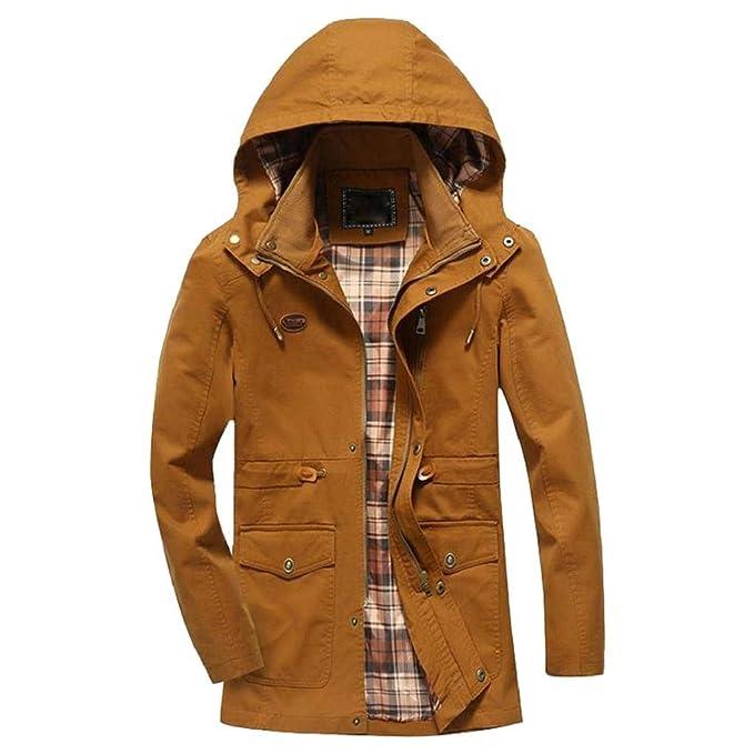 VICGREY ❤ Giacca con Cappotto da Uomo 9022a900e4c