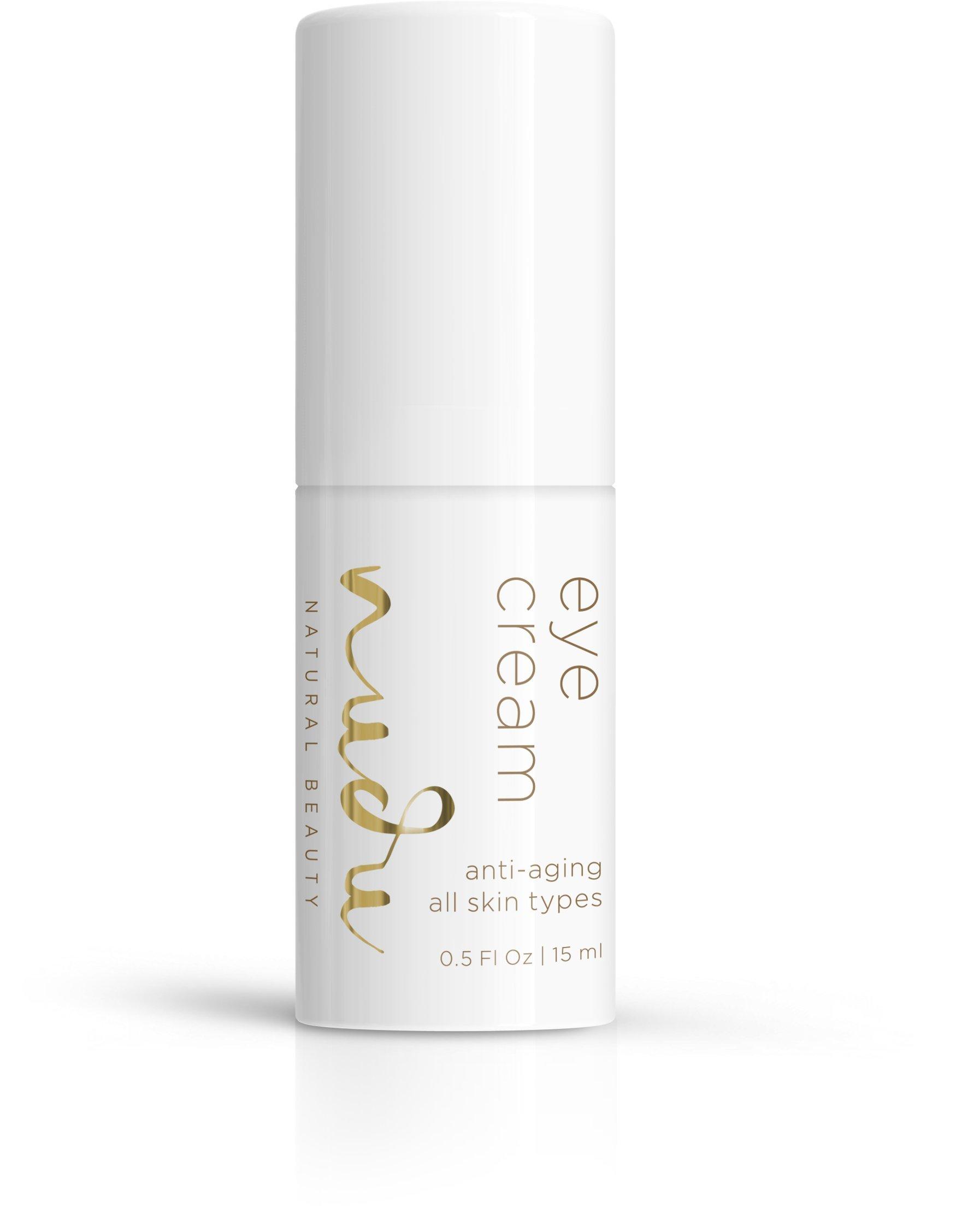 Nudu Eye Cream - Anti-Aging For All Skin Types (0.5 fl oz / 15 ml)