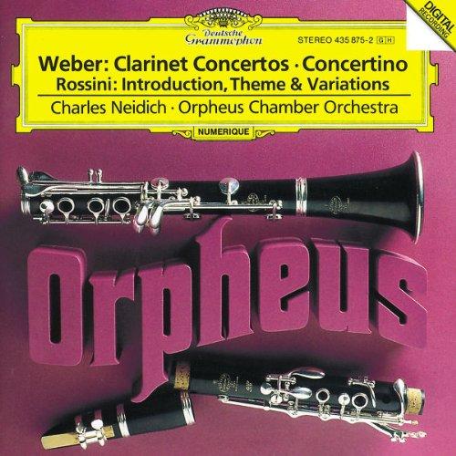 Price comparison product image Clarinet Concerti 1 & 2 / Concertino