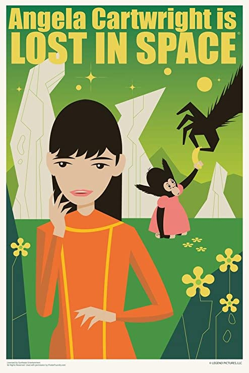 Angela Cartwright Color 24X36 Premium Quality Poster