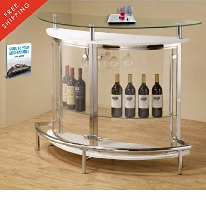 Wine Bar Buffet And Storage Cabinet Modern Wine Rack Console Sideboard Free  Standing Unit Dining Kitchen