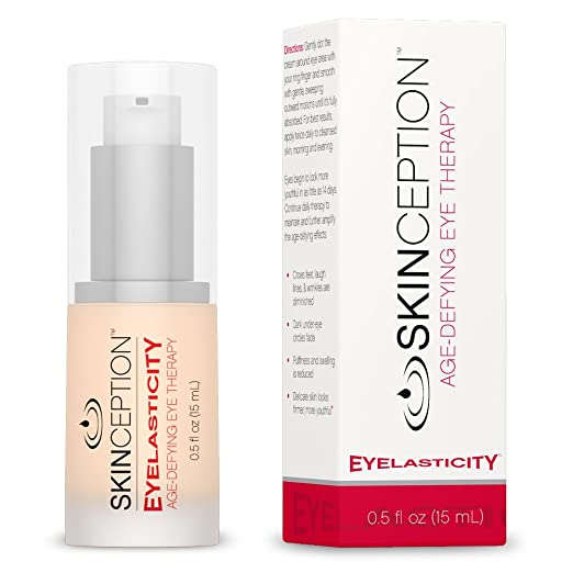 Skinception Eyelasticity Age-Defying Eye Therapy Cream, 0.5 Fluid Ounce