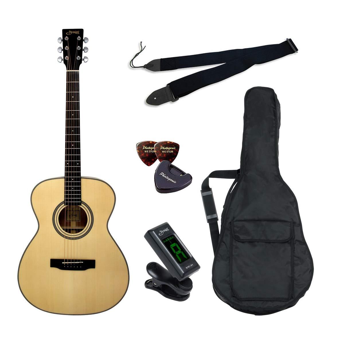 S.Yairi ヤイリ アコースティックギター Amazonオリジナル7点 クイックスタートセット YF-05/N  ナチュラル B07Q7VB2ZM