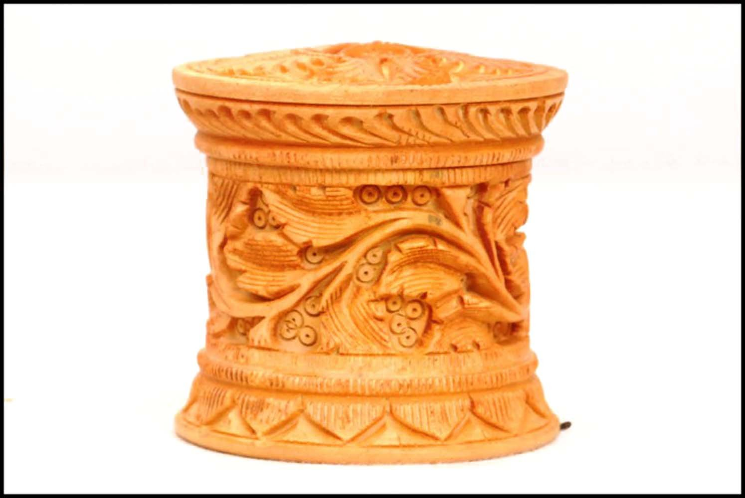 Wooden Sindoor Box: Amazon co uk: Kitchen & Home