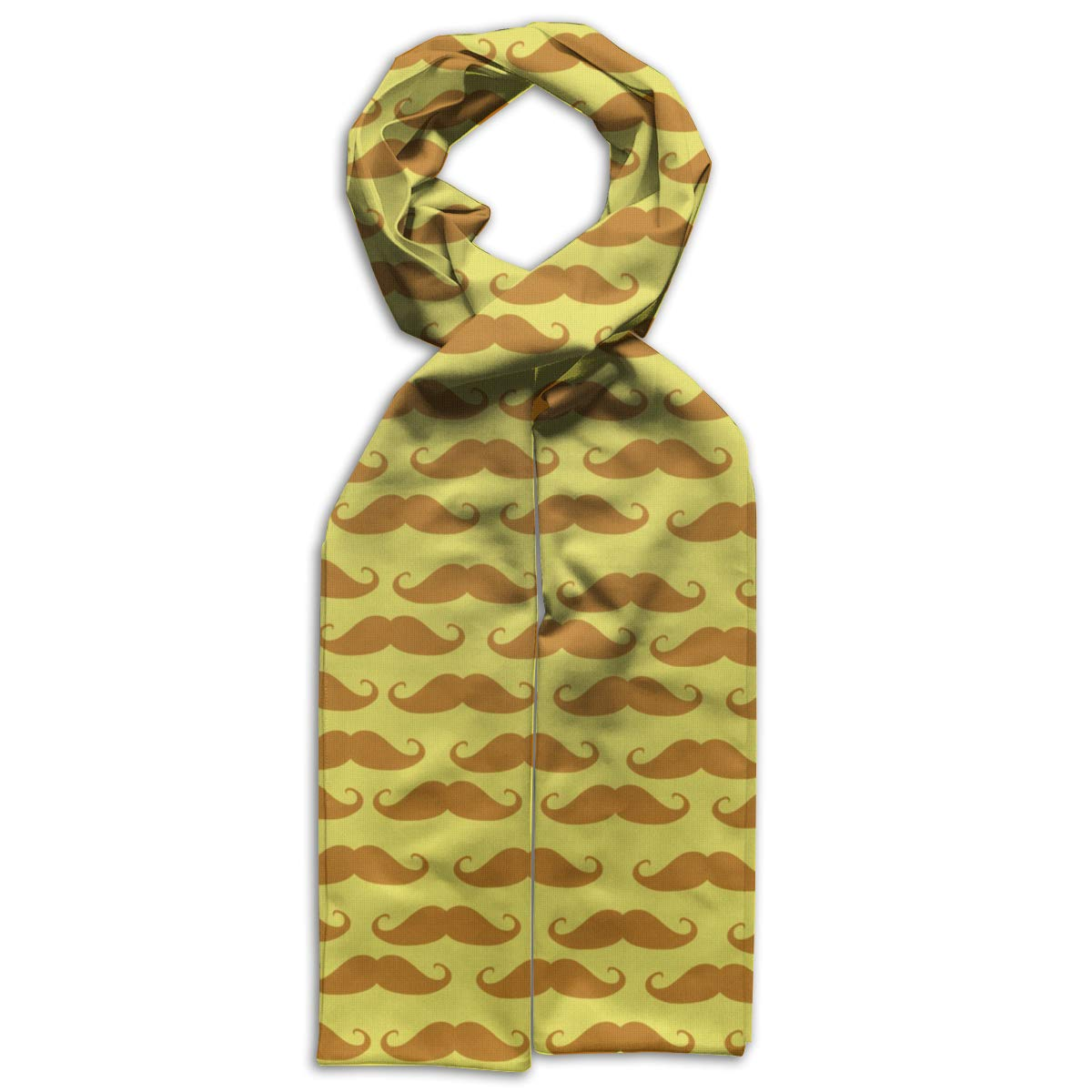 Cute Beard Kids Printed Scarf Soft Winter Infinity Scarf Warmer Travel Scarf For Kids Perfect Birthday Gift