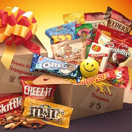 Gift Basket Drop Shipping Treats for Troopers Care Package