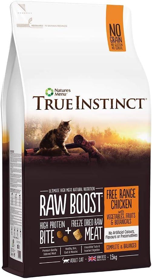 NATURES MENU True Instinct Raw Boost Adult Cat Free Range Chicken ...