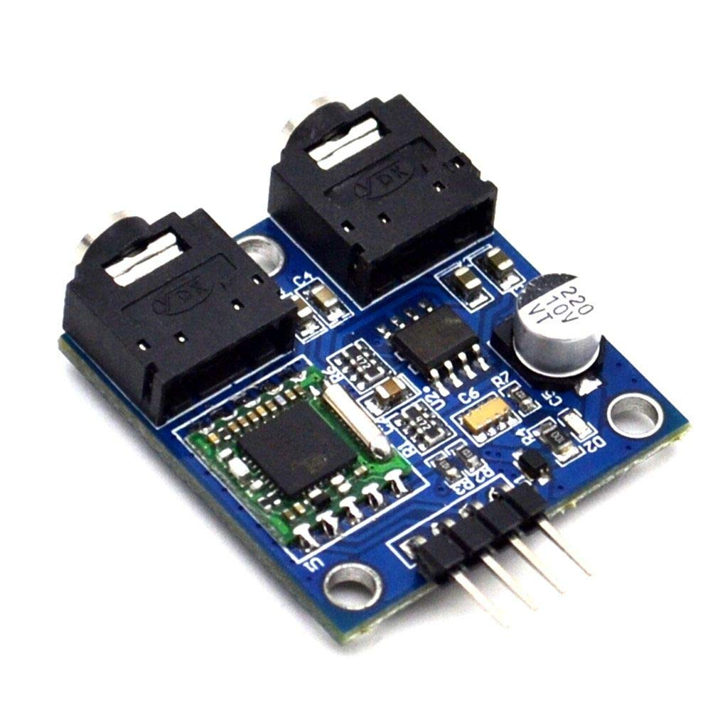Topker TEA5767 FM Stereo Radio Module Replcement for Arduino 76-108MHZ Free Cable Antenna