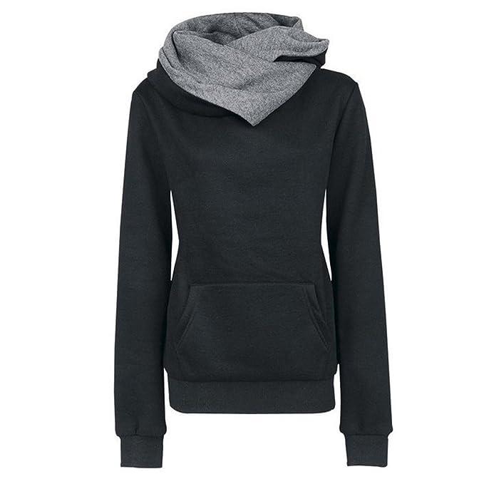 1e9514942d19 Perfectii Ladies Long Sleeve of Hoodies Hoody Sweatshirt Hoodie Sports  Sweater