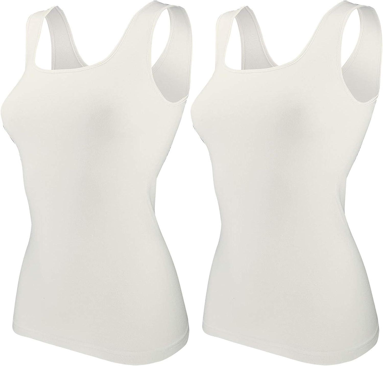 Ten Cate Damen Unterhemd Top 2-Pack Basic Cotton 3370
