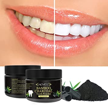 Amazon Com Activated Charcoal Teeth Whitening Teeth Powder