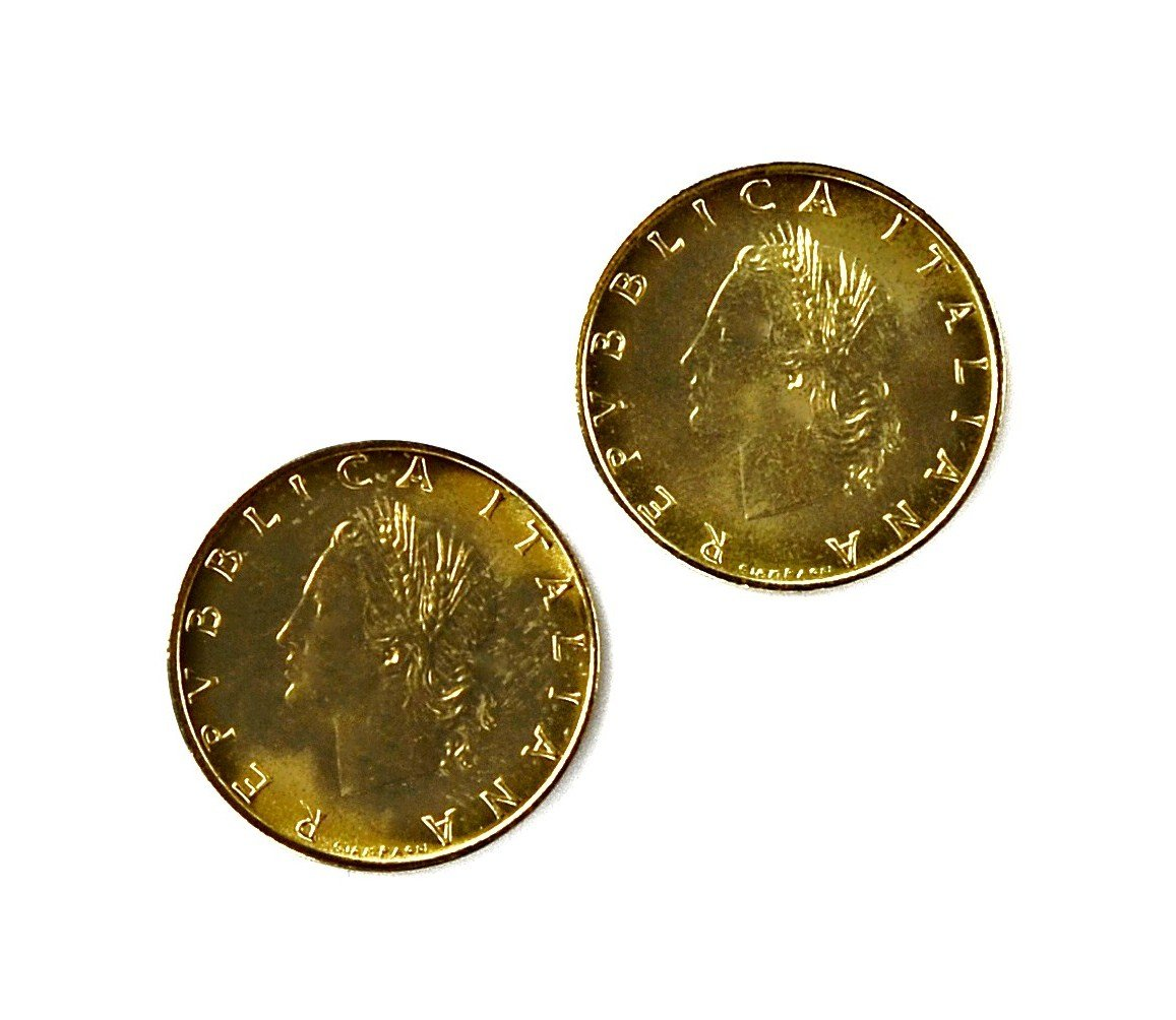 Quality Handcrafts Guaranteed Italy Coin Cufflinks